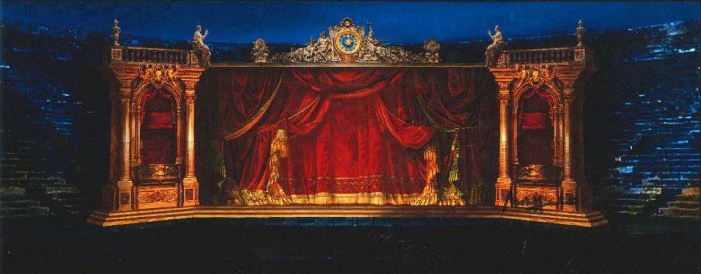 Arena di Verona. La Traviata <br> di Franco Zeffirelli con Placido Domingo